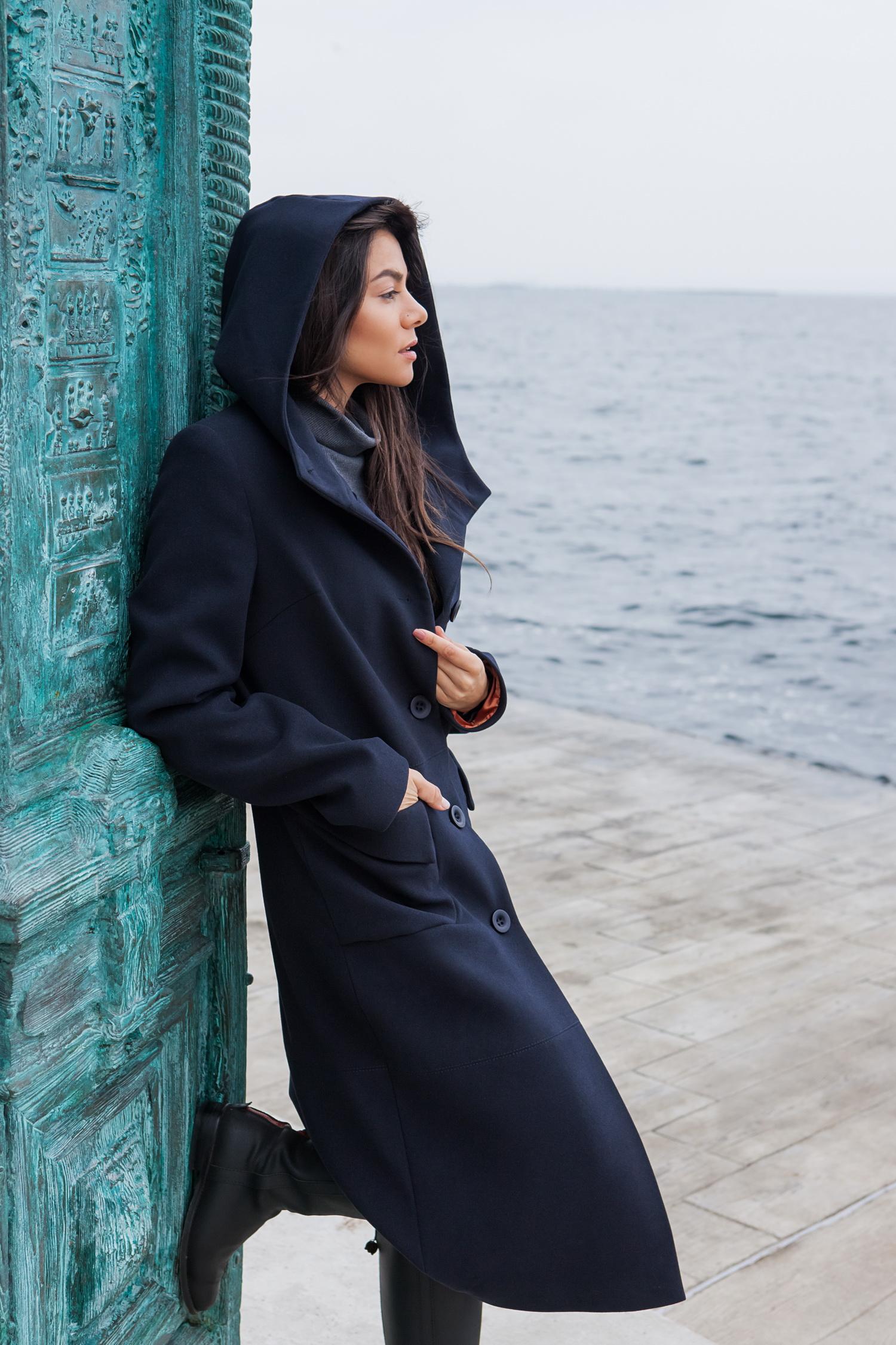Створюємо теплий настрій з модним жіночим пальто - CAT ORANGE ... d60c5765ad989