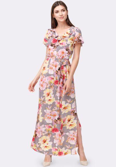 d89276fc6f3d950 Платье 5542 - CAT ORANGE Интернет магазин женской одежды в Украине ...