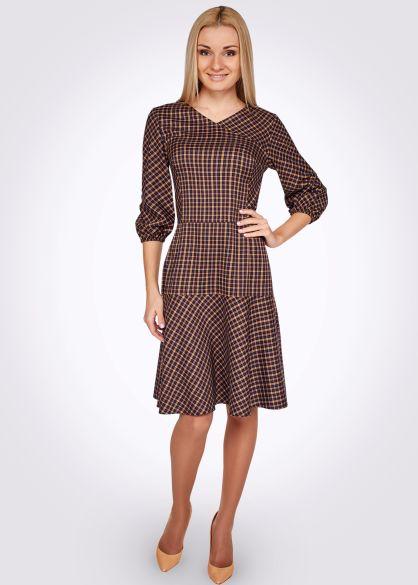 Сукня 5348 - CAT ORANGE Інтернет магазин жіночого одягу в Україні. Модний жіночий  одяг від виробника. 622f9ad36c457