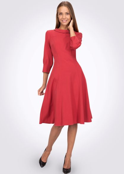 Платье 5438 - CAT ORANGE Интернет магазин женской одежды в Украине ... b8f04003799